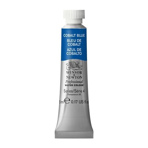 Tinta Aquarela Profissional Winsor & Newton Cobalt Blue Tubo 5ml S4 (0102178) - Papelaria Botafogo