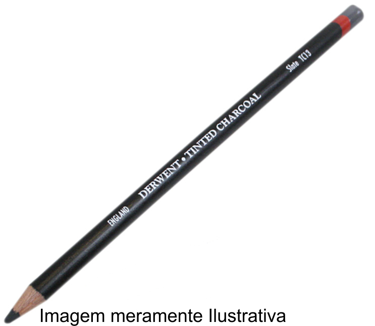 Lápis Carvão Vegetal Colorido Glowing Embers (TC04) un. - Papelaria Botafogo
