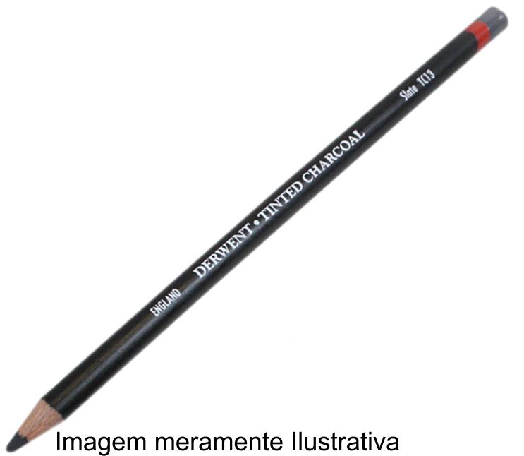Lápis Carvão Vegetal Colorido Heather Mist (TC05) un. - Papelaria Botafogo