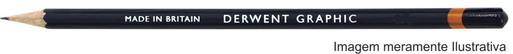 Lápis Graphic Derwent Graduado F un. - Papelaria Botafogo