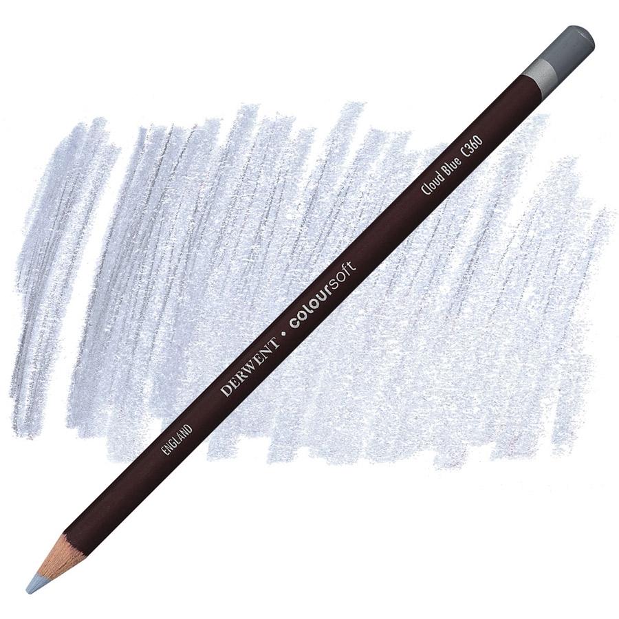 Lápis Coloursoft Derwent Cloud Blue (C360) un. - Papelaria Botafogo