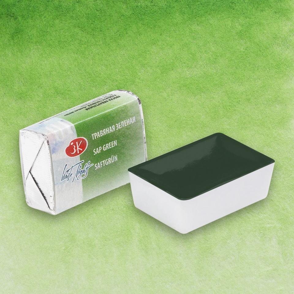 Aquarela White Nights Pastilha Sap Green 716 - Papelaria Botafogo