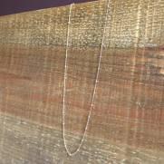Colar semijoia Bolinhas banhado a ouro 70 cm