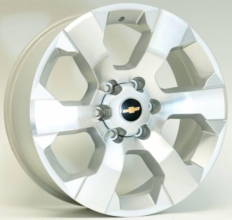 Jogo de Rodas GM S10 LTZ 2012 Aro 20
