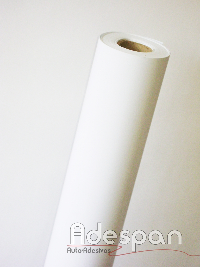 Vinil Branco Premium 0,08mm c/1,00m/lg