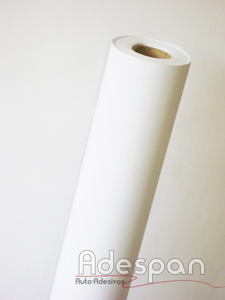 Vinil Branco Fosco Premium 0,10mm c/1,00m/lg