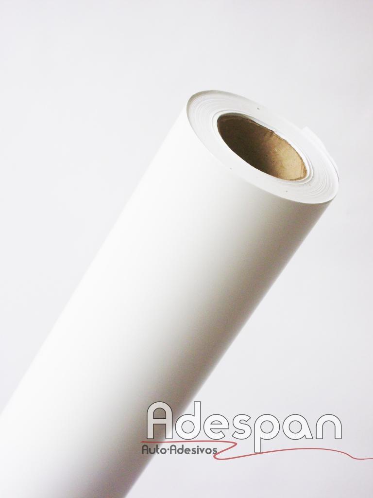 Vinil Branco Fosco Premium 0,10mm c/1,22m/lg