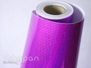Vinil Holográfico Triângulo Púrpura Digital c/1,00m/lg   ADESPAN