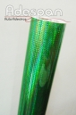 Vinil Holográfico Triângulo Verde c/1,00m/lg