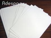 Vinil Laser Transparente 0,33x0,48m c/100 folhas SUPER A3 | ADESPAN