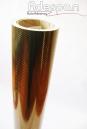 Vinil Fibra de Carbono Ouro (Fibraline) c/1,38m/lg