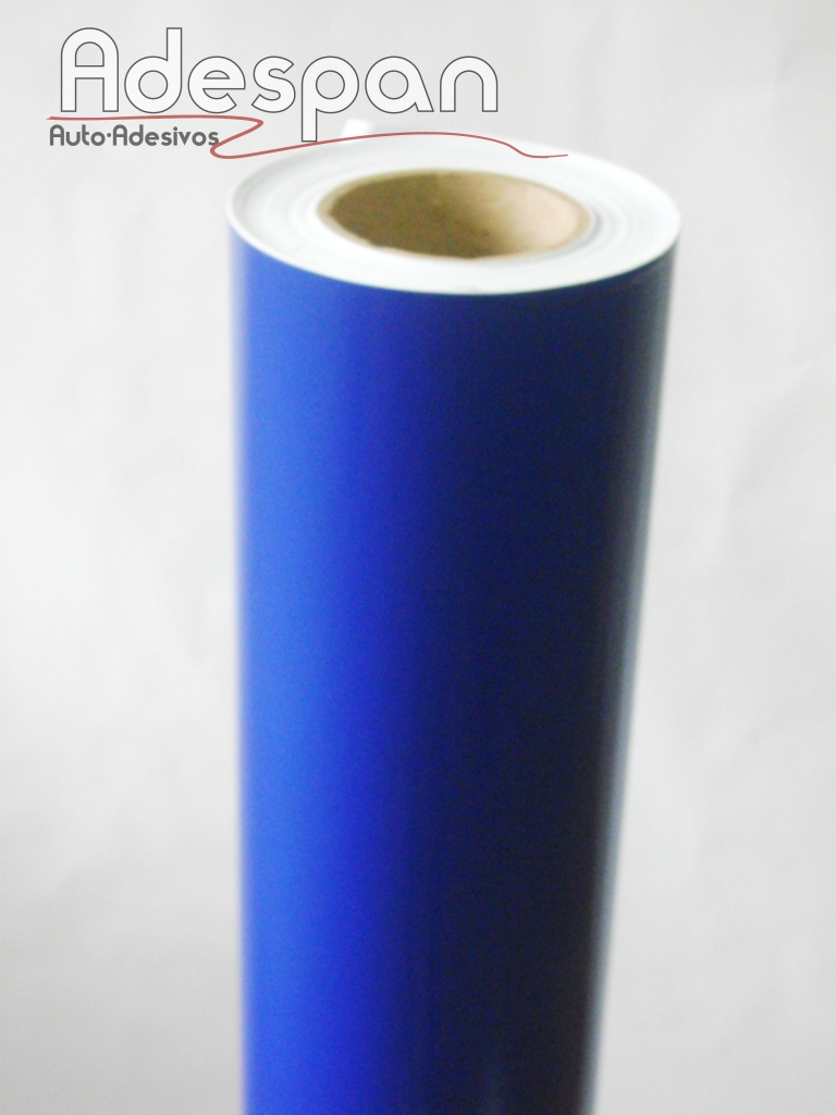 Vinil Azul Medio Alto Brilho Premium c/1,22m/lg