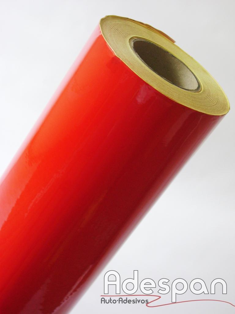 Vinil Refletivo Vermelho c/1,24m/lg