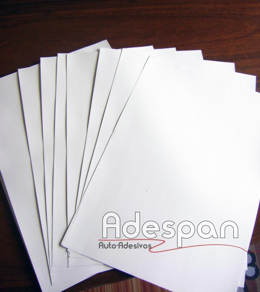 Vinil Laser Branco Fosco 0,297x0,42m c/100 folhas A3