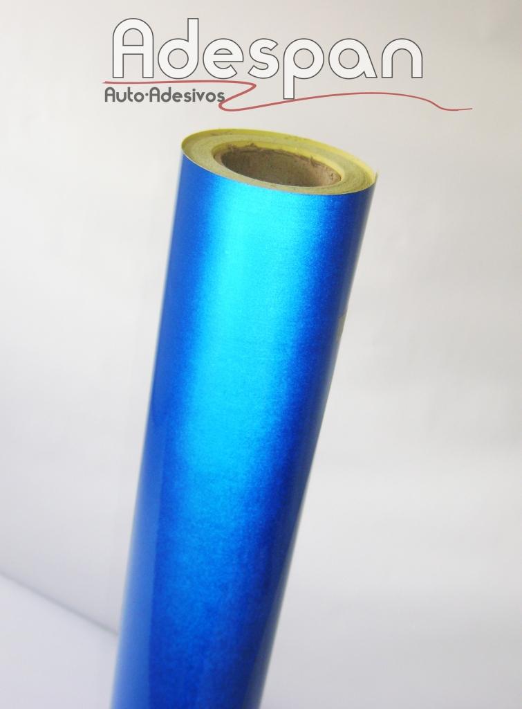 Vinil Refletivo Azul c/1,24m/lg