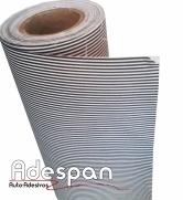 Tecidos Autocolantes Listrado Preto e Branco | ADESPAN