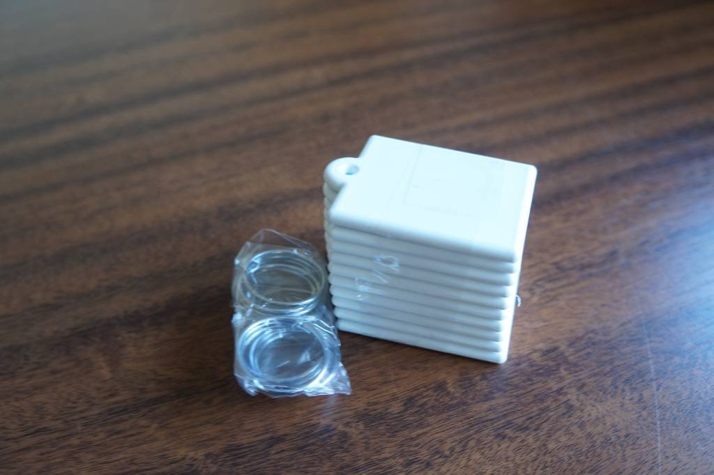 Chaveiro quadrado de plastico para sublimação