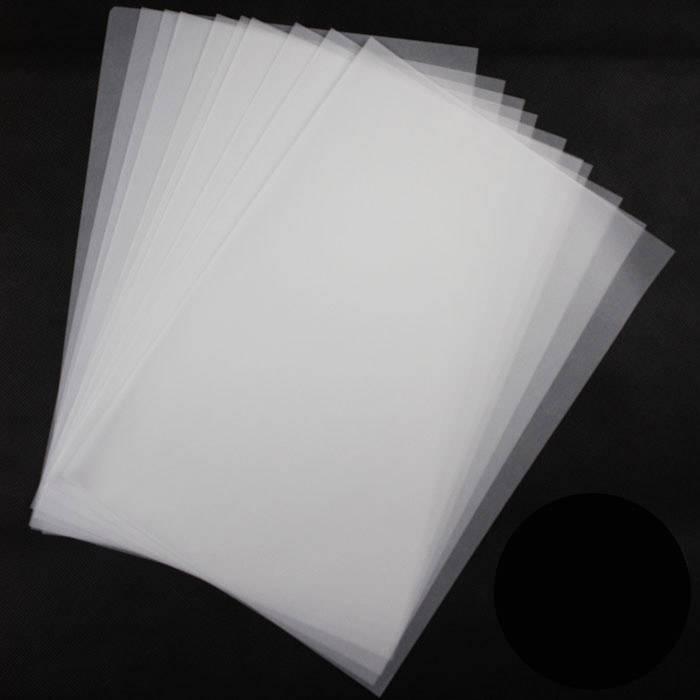Midia Clear film transparente A4 c/100 folhas
