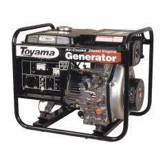 Gerador a Diesel Toyama TD4000CXE 3.3 Kva Monofásico Partida Elétrica
