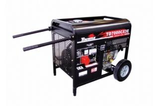 Gerador a Diesel Toyama TD7000CX3E Trifásico Partida Elétrica | Polimotores Maquinas
