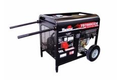 Gerador a Diesel Toyama TD7000CX3E Trifásico Partida Elétrica