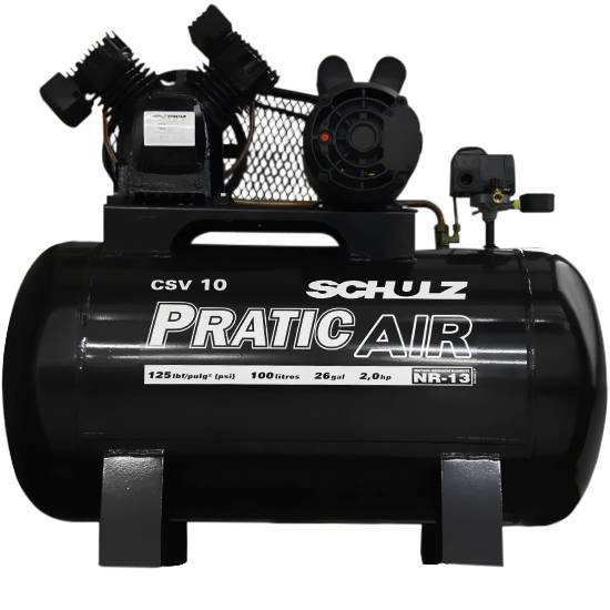 Compressor de Ar Schulz Pratic Air CSV 10/100