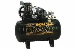 Compressor de Ar Schulz Bravo CSL 10/100
