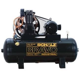 Compressor de Ar Schulz Bravo CSL 40/250