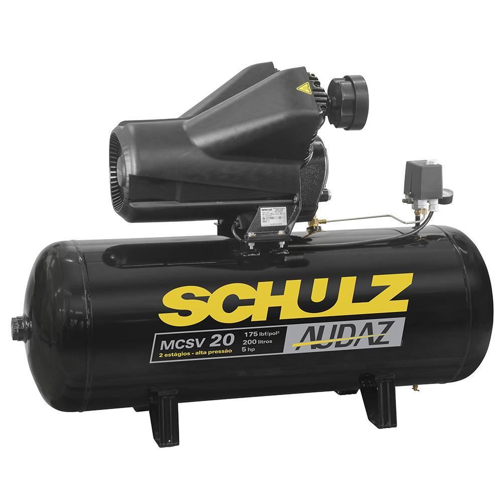 Compressor de Ar Schulz Audaz MCSV 20/200