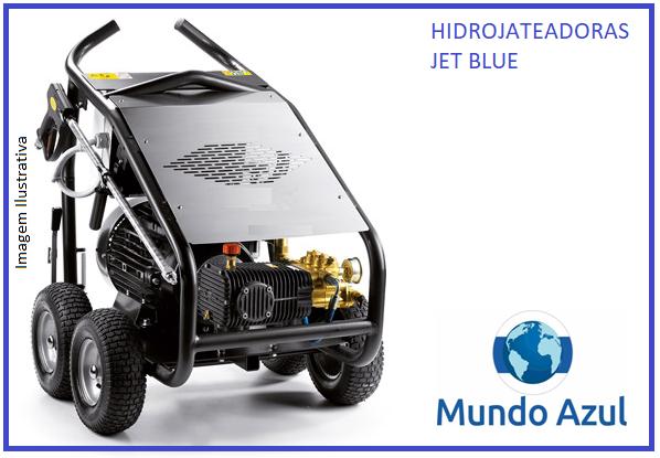 .Hidrojateadora JetBlue® 200 A 500 bar- 2.900 A 7.250 Libras pressão - Mundo Azul