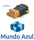 BOMBA TRIPLEX 500 BAR JETBLUE JBDS 16/50 7.250 PSI LIBRAS