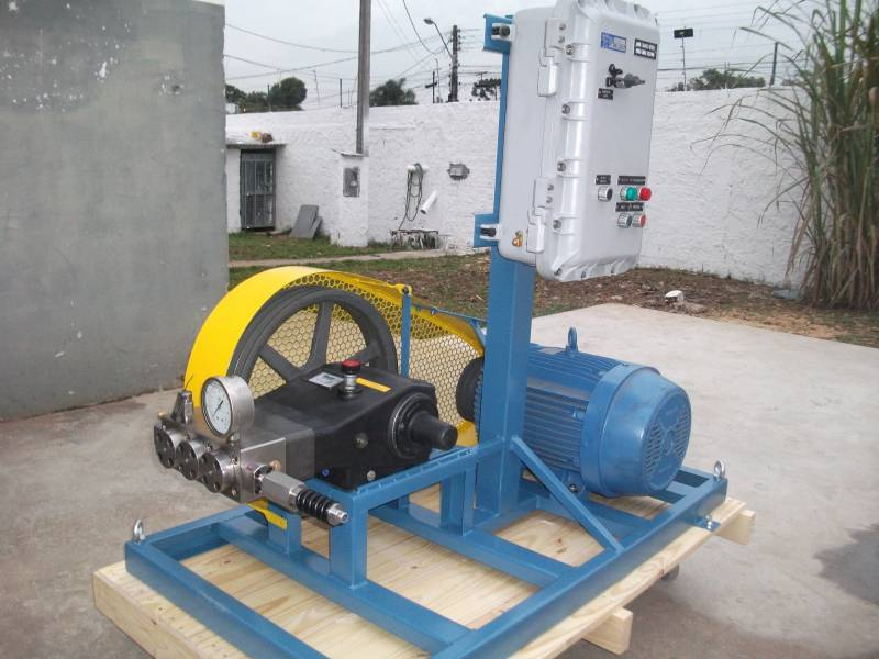 CONJUNTO MOTOR/BOMBA MTB JET BLUE ALTA PRESSÃO 2600 LIBRAS 12 L/MINUTO 5,0 CV - BASICA - Mundo Azul