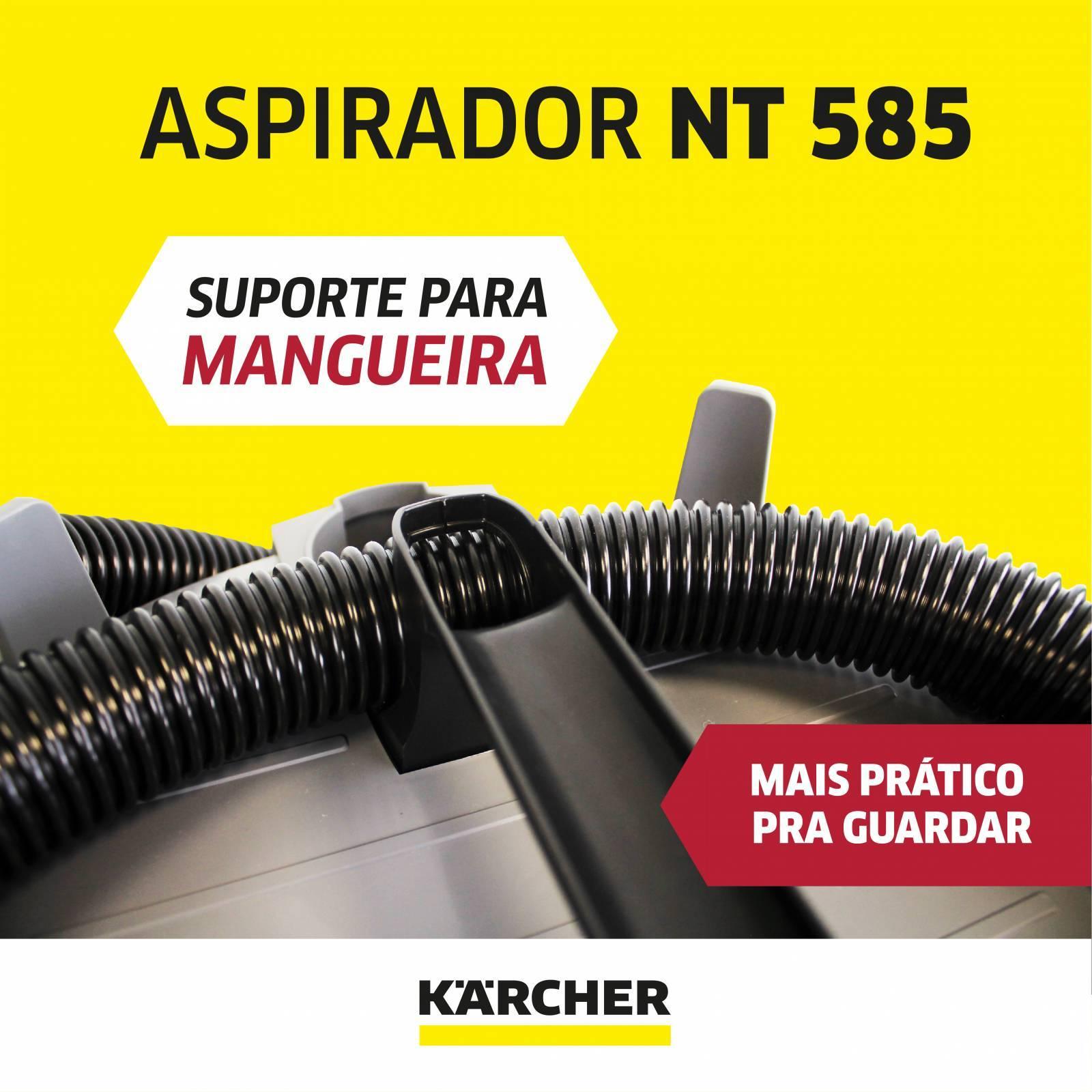 ASPIRADOR DE PÓ E LÍQUIDOS NT 585 - Mundo Azul