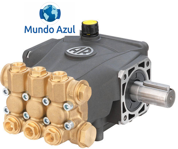 Bomba de Pressão Radial 3.3 para Lavajato WAP L STD 2400(AR-RCA 3.3G25) - Mundo Azul