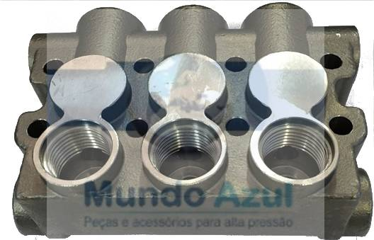 CABEÇOTE INOX PARA LAVAJATO WAP ELECTROLUX L1600-1800-2400 ELECTRA, CSL 2400, WAP TK-12 COD 00064 - Mundo Azul