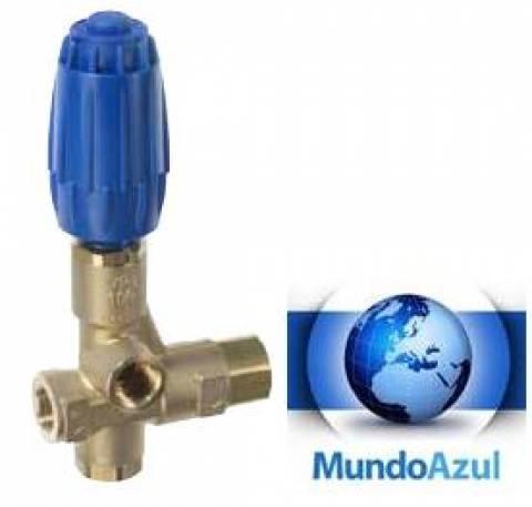 VÁLVULA REGULADORA PRESSÃO 330 BAR 100 L/MINUTO G1/2F HIGH FLOW - Mundo Azul