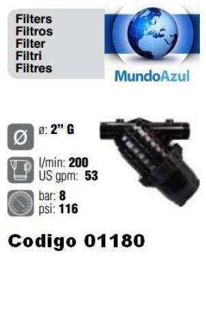 FILTRO DE LINHA 200 LITROS 53 GPM 2