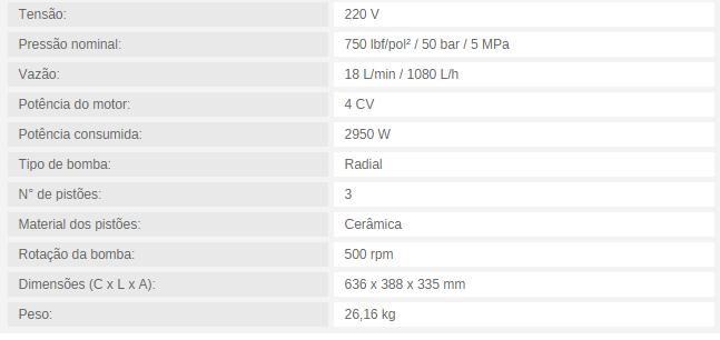 MOTOBOMBA PARA CLIMATIZAÇÃO MBC 18/750 18 L/min / 1080 L/h 750 lbf/pol² 220/380V TRIFÁSICO - Mundo Azul