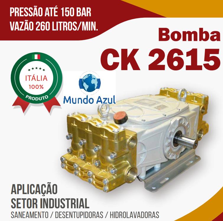 BOMBA SANEAMENTO CK 2615 260 LITROS MINUTO X 150 BAR EXAPLEX - Mundo Azul