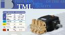 BOMBA ALTA PRESSÃO TRIPLEX 30 LITROS MINUTO 160 BAR 1750 RPM TECNOESSE TML3016 COD. 3753