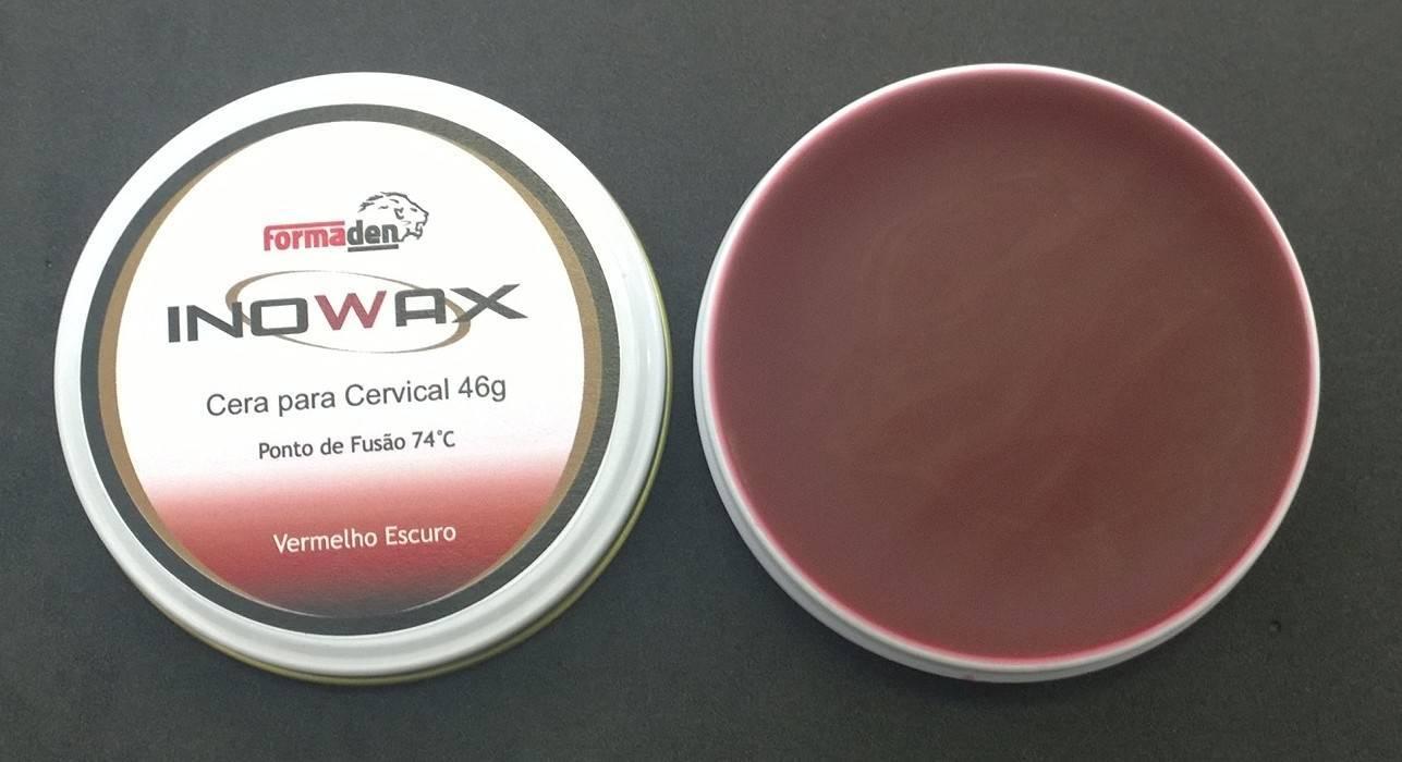 INOWAX 8G -101197- Cera p/ cervical (bordo)