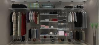 Closets Aramados - kit Premium Completo - 4,20 metros