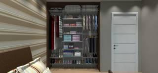 Closet Completo - Kit CL190 - 1,90 metros | Aramados Monte Fácil