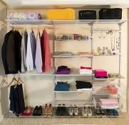 Closet Completo - Kit CL230  COMPACTO | Aramados Monte Fácil