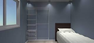 Closet Completo - Kit CL130  - 1,30 metros | Aramados Monte Fácil