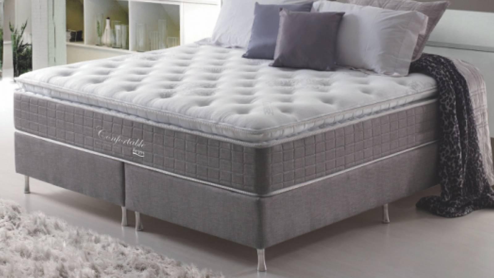 Conjunto Cama Box Confortable Anjos Colchões - All Home