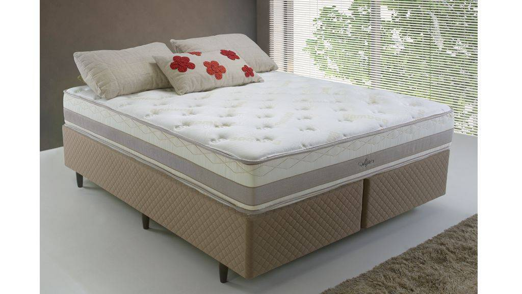 Conjunto Cama Box Alpes Herval - All Home
