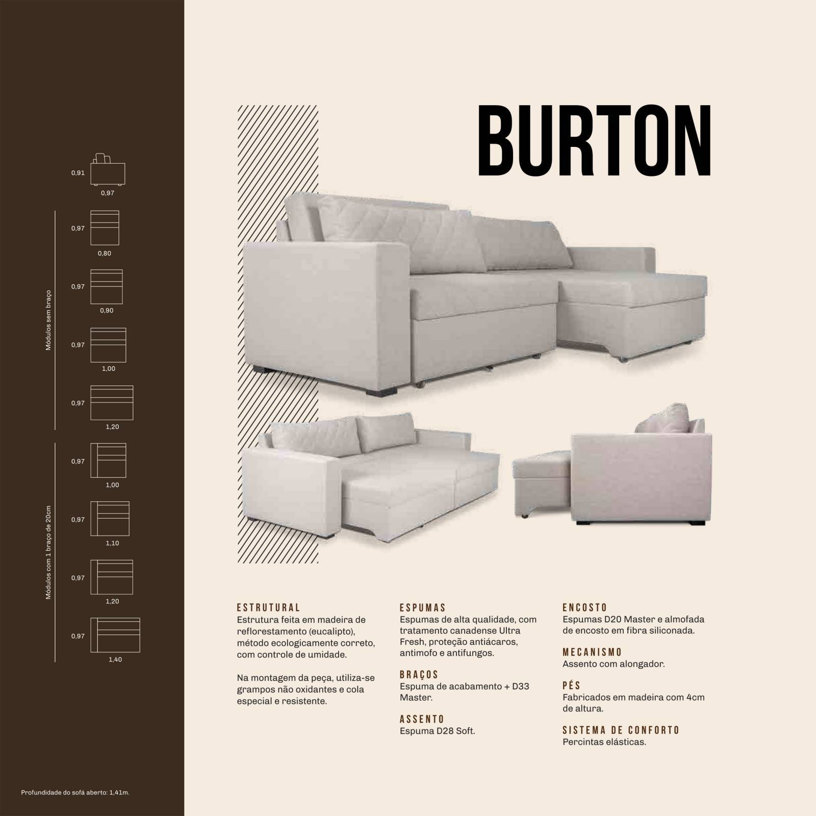 Estofado Burton Mannes - All Home
