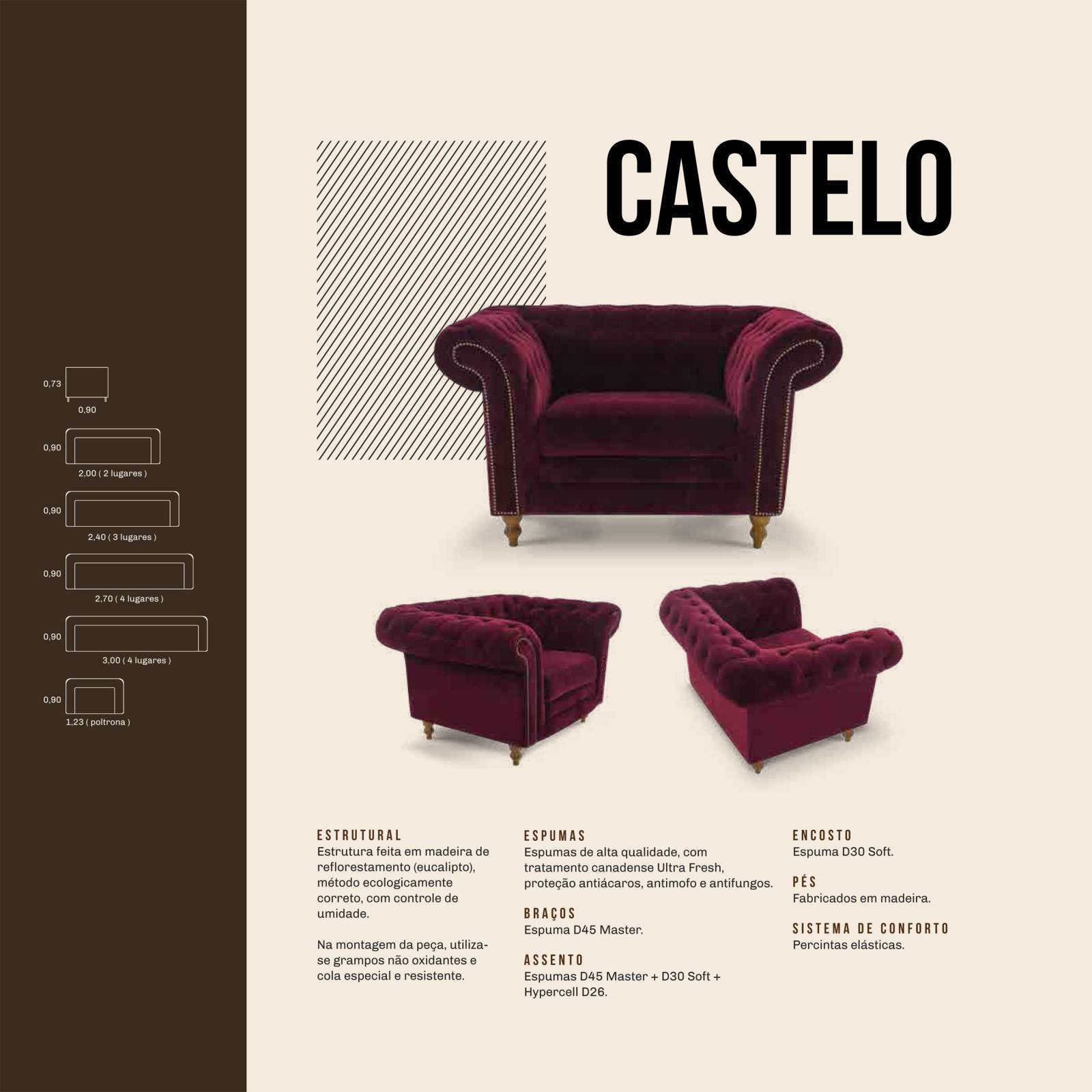 Poltrona Castelo Mannes - All Home