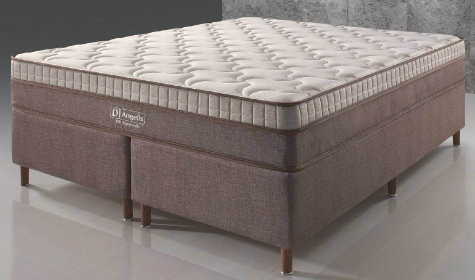 Conjunto Cama Box DG 428 Látex D'Angelis - All Home